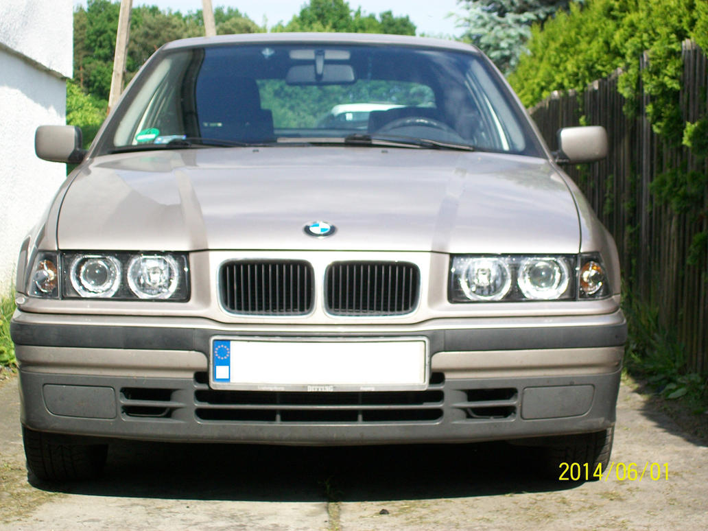 headlight upgrade bmw e36 316i compact 1996 by roberuto renga on deviantart. Black Bedroom Furniture Sets. Home Design Ideas