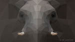 Elephant - LowPoly - Style [HD-720p]