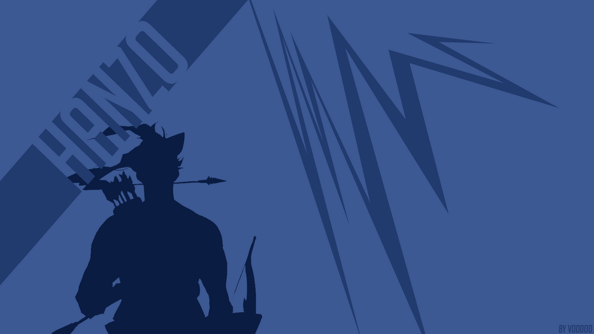 overwatch - hanzo - wallpaper 4kdearvoodoo on deviantart