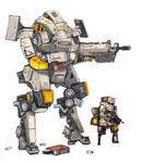 Iron wolf W.U.3 by BettaRenard