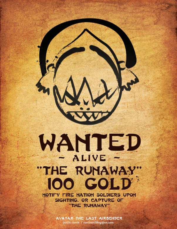 Toph S Wanted Poster By Justincurrie On Deviantart