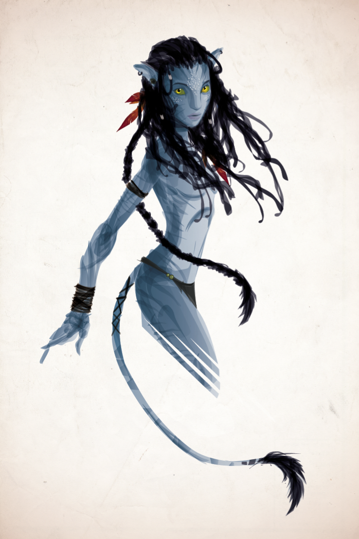 The Na'vi by justincurrie