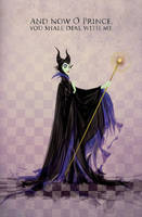 Maleficent by justincurrie