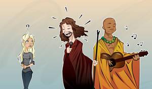 Rockband: Jesus and Buddha