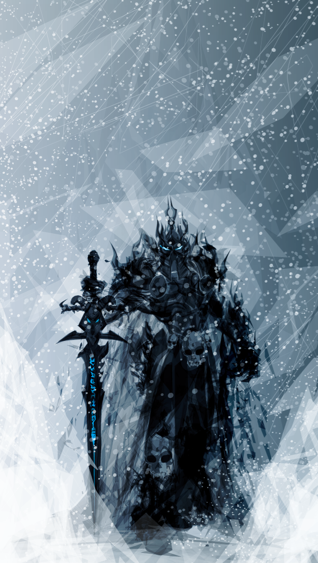 Lich King by justincurrie