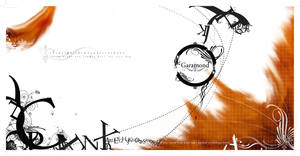 Garamond Type Poster by justincurrie