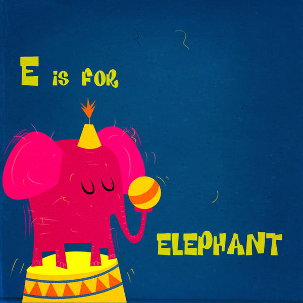 Elly the elephant by Christine-E