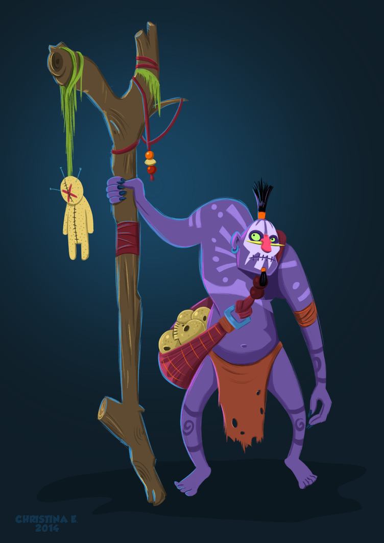 Witch Doctor by Christine-E
