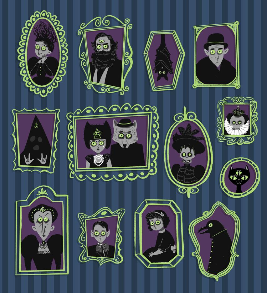 Ancestors by Christine-E