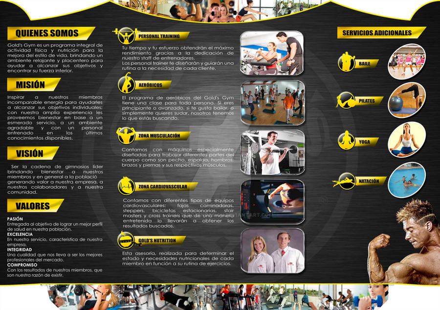 goldsgym – Gym Brochure