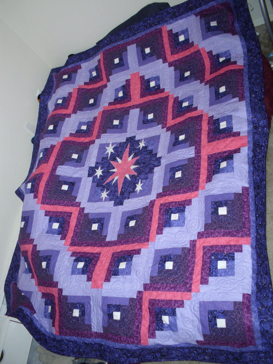Full Twilight Quilt - for Rob by setralynn