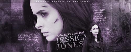 Jessica Jones by fadeawayx16