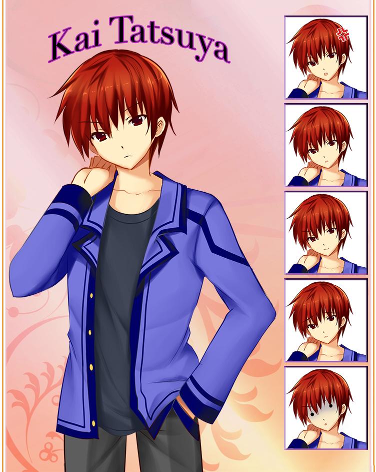 Keepsake Character: Kai Tatsuya - Protagonist by Chocopyro
