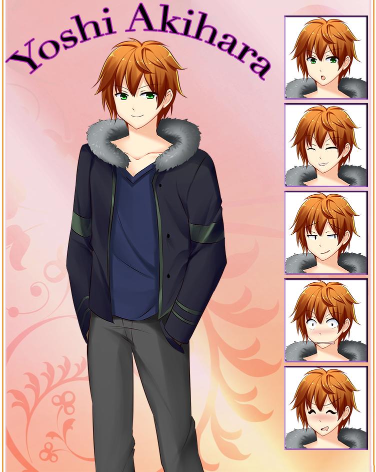 Keepsake Character #6: Yoshi Akihara by Chocopyro