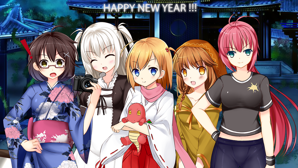 Happy new years, best wishes, and news and stuff! by Chocopyro