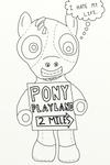 Professional Pony (ATG3 - Day 23)