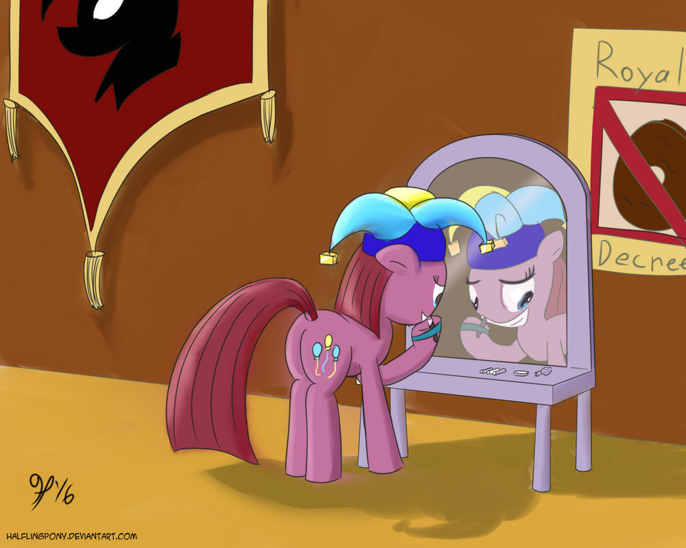 Bad End: The Royal Jester by HalflingPony