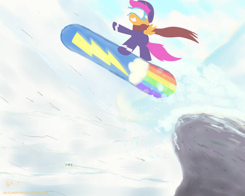 Snowboarding (ATG7 - Day 25)