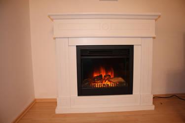 fireplace - stock. by ramona-stock