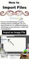 How to Import Images into ArtRage