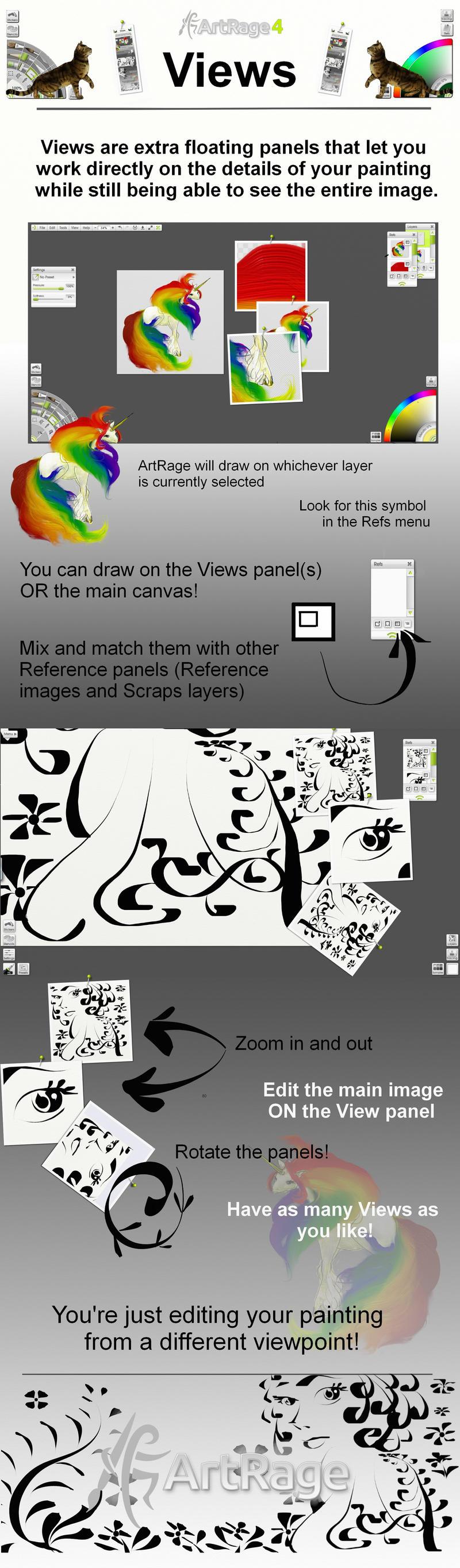Views in ArtRage 4 by ArtRageTeam