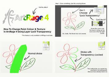 Lock Transparency In Artrage 4 by ArtRageTeam