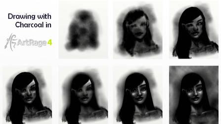 Charcoal ArtRage Tutorial by ArtRageTeam