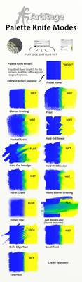 Palette Knife Preset Blending Effects in ArtRage by ArtRageTeam