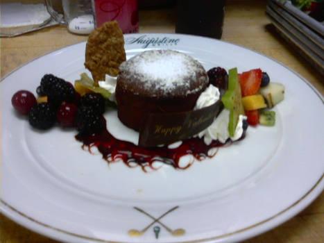 Hot Chocolate Lava Cake