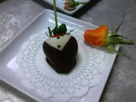 strawberry tuxedos