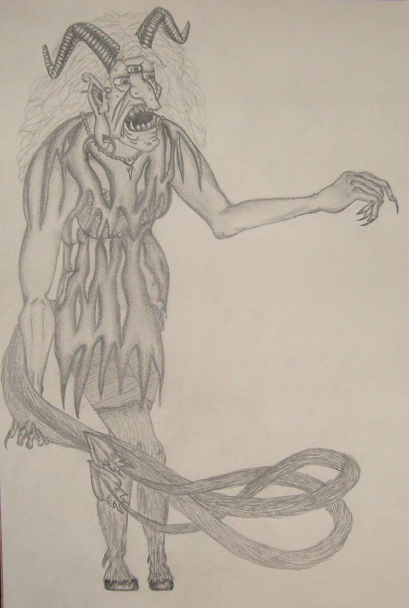 Gryla: Icelandic Folklore Ogre by ~airlynn on deviantART