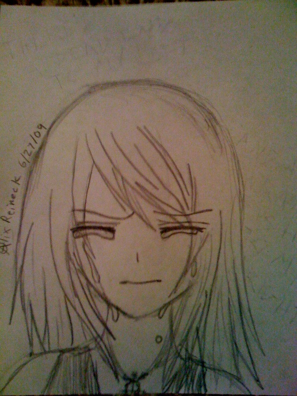 Gallery For > How To Draw A Crying Anime Girl
