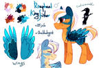 Raphael Kingfisher MLP adoptable [Closed]