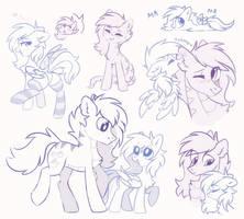 mxl sketches by MirtaSH