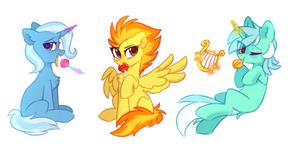 pony girls by MirtaSH