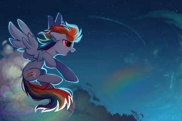 night rainbow