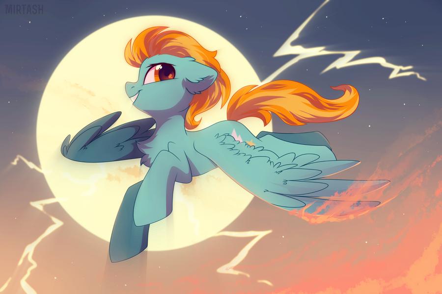 lightning splash