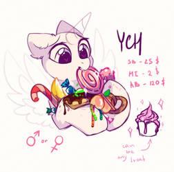 too many treats - YCH