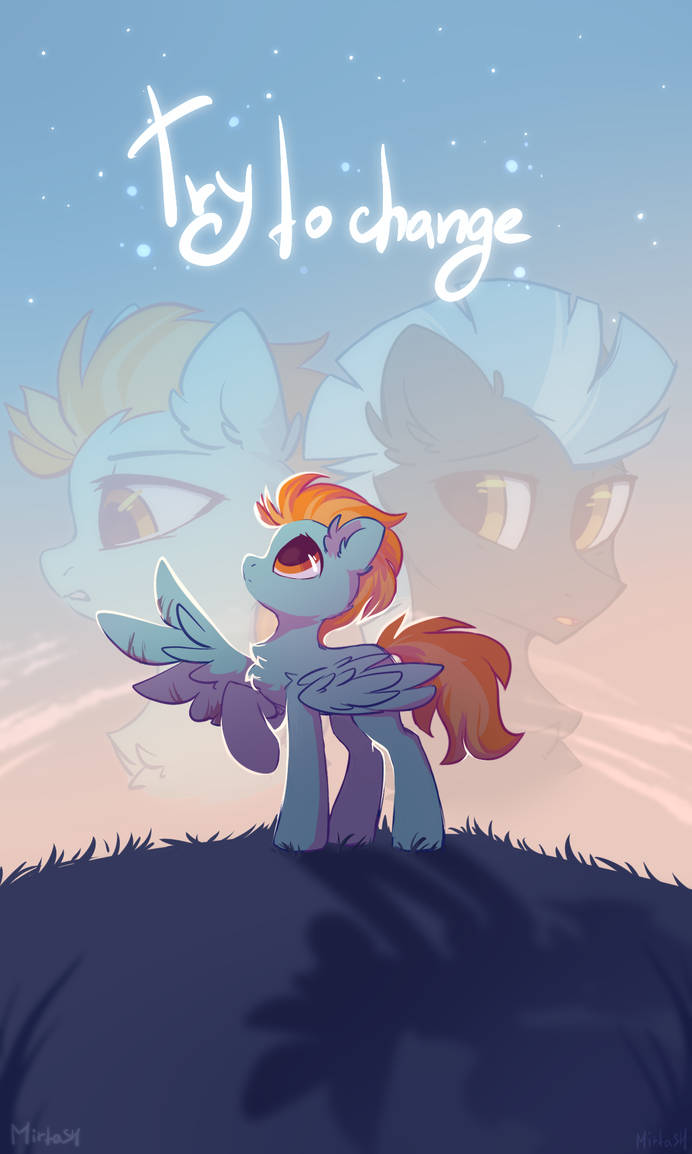 try to change - comic cover