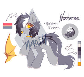 Nocturne MLP adoptable - closed