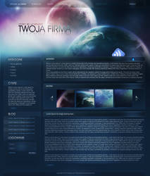 Cosmic webdesign by rsx1988