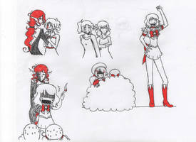 Sailor Moon and Nyotalia by 2-101010101010101-2