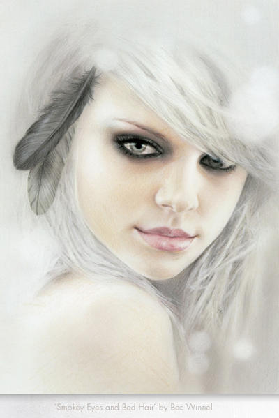 Bed hair and smokey eyes by becwinnel on deviantart for Colores sensuales