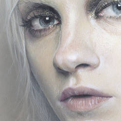 Ginta Face Study 2 Detail by becwinnel