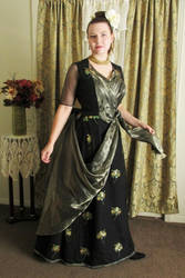 One Night with Dracula Victorian Opera Gown