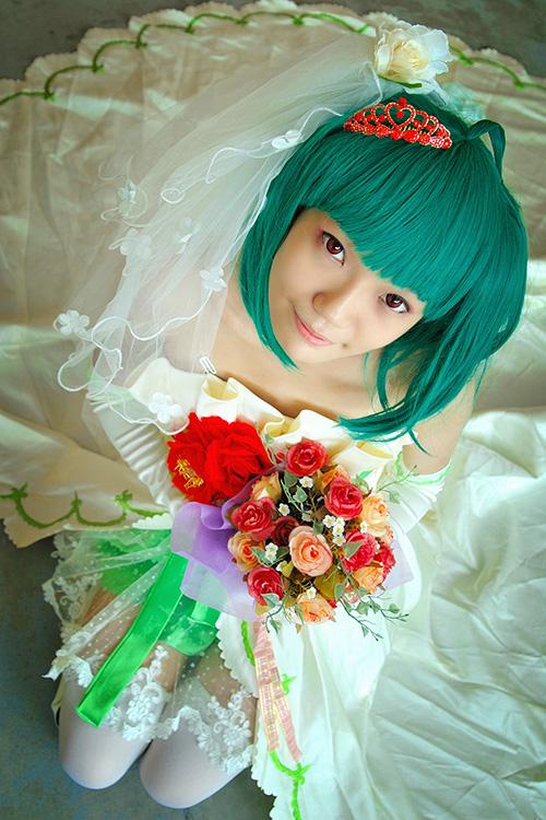 AFA'12 - Ranka Lee (wedding dress) by macross-n