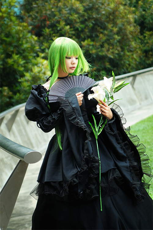 EOY'12 - C.C (black gown) by macross-n