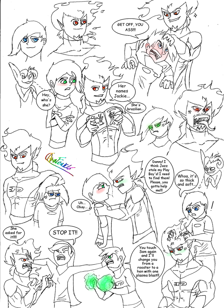 Dan and Danny Doodles by Animated--Freak