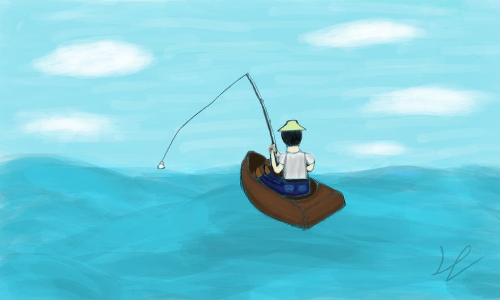 The fishman by DaniloDGomide