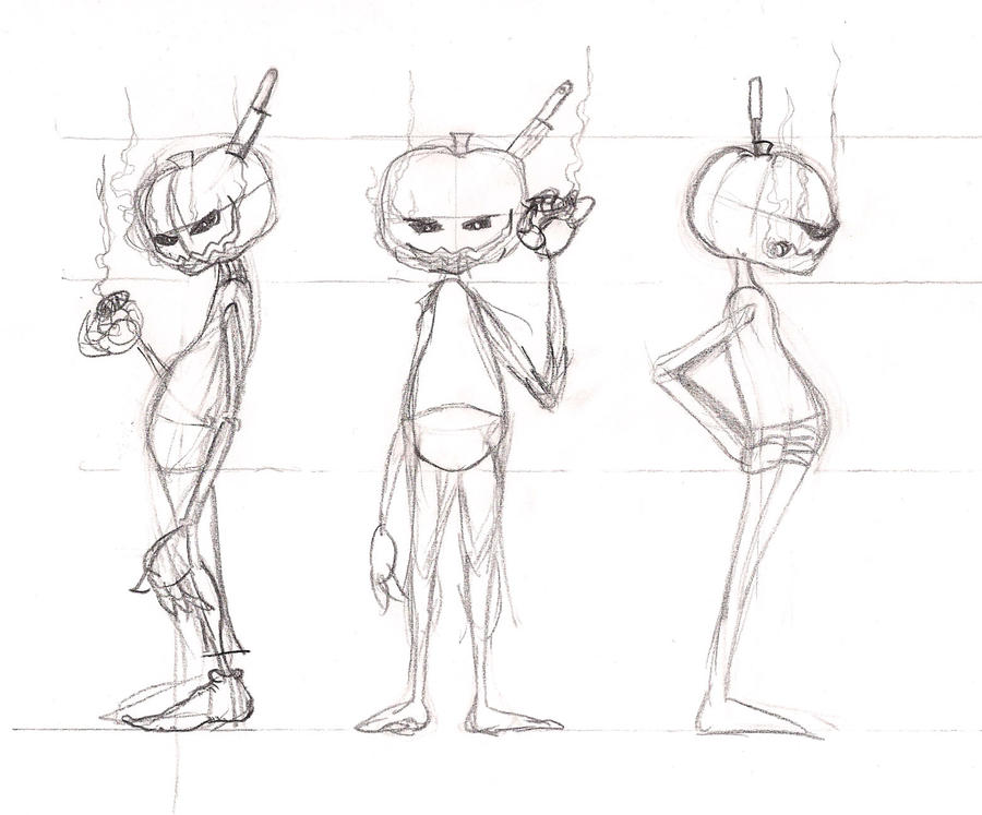 Character Design Research : Character study by facepalm on deviantart